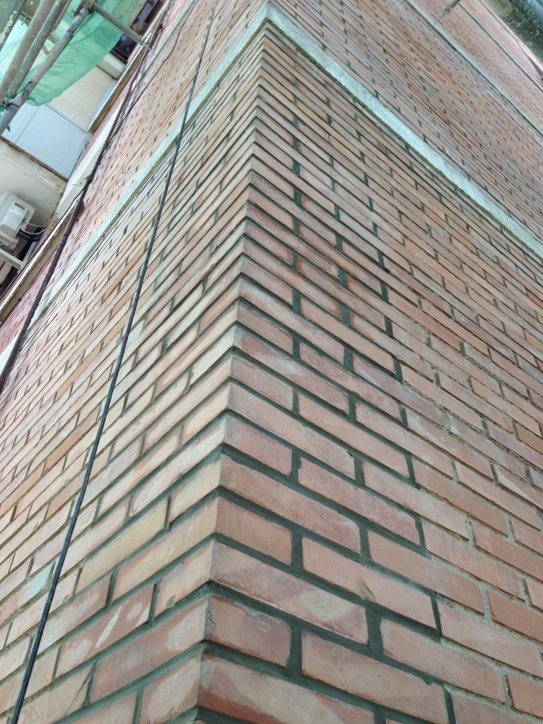 rellenado llagas ladrillo madrid llagueado fachadas madrid