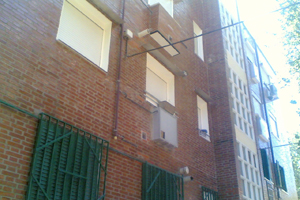 restauración fachadas ladrillo madrid
