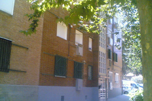 rehabilitación fachadas ladrillo madrid