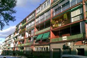 rehabilitación frentes terraza madrid
