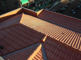 Tejados teja hormigon 2 - Tejados de teja de hormigón