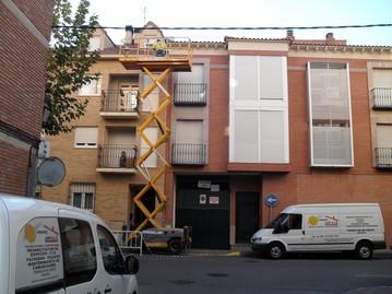 presentacion B 009 - Restauración y Pintado de fachadas