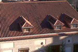 tejados curva 03 - Tejados de teja curva o árabe