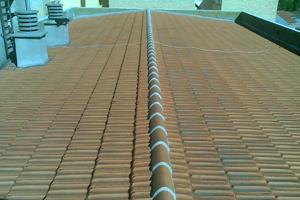 tejados plana 01 - Tejados de teja plana o alicantina